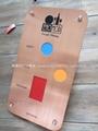 Enomond's copper+wood design menu board
