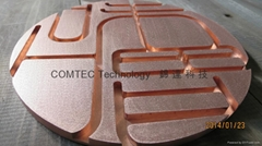 aluminium, steel, copper Routing: