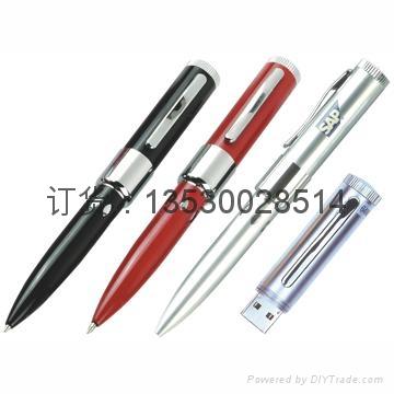 激光u盘笔 红色激光 带书写u盘笔定制 创意商务u盘 3