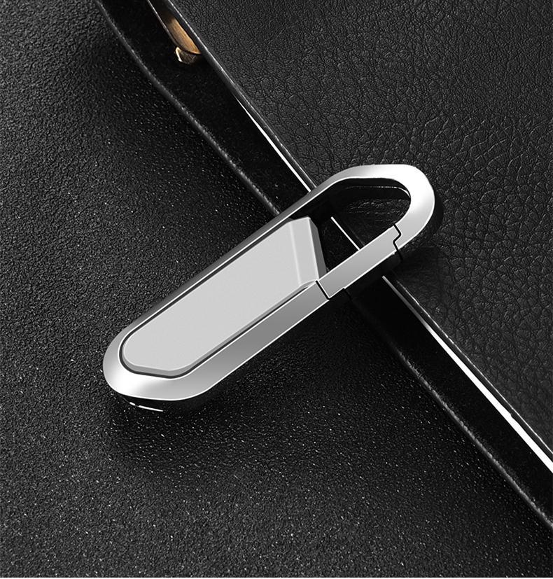 登山扣鑰匙型u盤定製 商務送禮優盤 可客制化USB隨身蝶 4