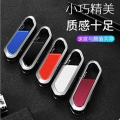 登山扣鑰匙型u盤定製 商務送禮優盤 可客制化USB隨身蝶