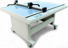 Paper sample cutter plotter
