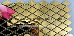 mi-36 菱形金属马赛克装潢墙面厨房浴室等