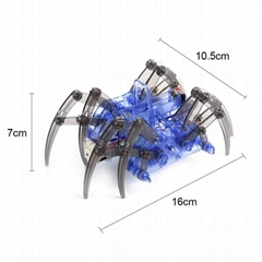 DIY spider robot assembly toy spider robot scientific educational kit