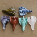 35mm pocket gemstone angel pendants