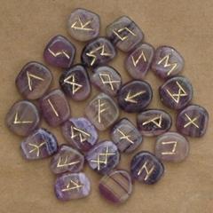 Wholesale crystal gemstone Runes stones