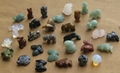 Natural gemstone assorted mixed semi precious stone animal beads