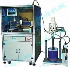 玻璃胶硅酮胶封胶涂胶机