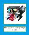 eco solvent digital printer