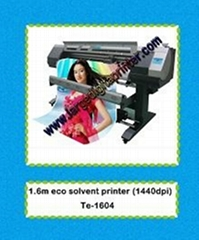 eco solvent digital printer