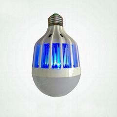 2017 new item E27 mosquito killing bulb, LED mosquito killing bulb