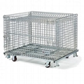 Wire Mesh Container Wire Mesh Cage with Cover Lids Mesh Divider 2