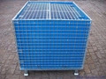 Wire Mesh Container Wire Mesh Cage with Cover Lids Mesh Divider 4