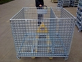 Wire Mesh Container Wire Mesh Cage with Cover Lids Mesh Divider 9
