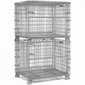 Wire Mesh Container Wire Mesh Cage with Cover Lids Mesh Divider 10