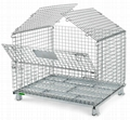 Wire Mesh Container Wire Mesh Cage with Cover Lids Mesh Divider 1