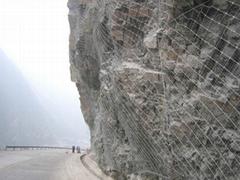 边坡治理主动防护网