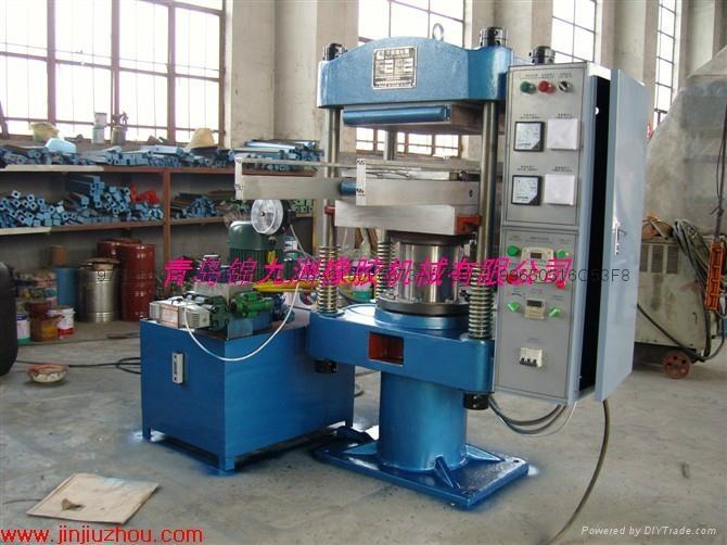 实验室30t节能橡胶平板硫化机 5
