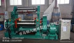 450型带翻胶装置橡胶自动开炼机