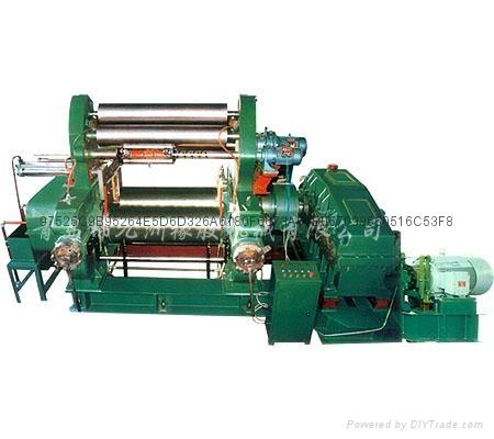 450型带翻胶装置橡胶自动开炼机 3