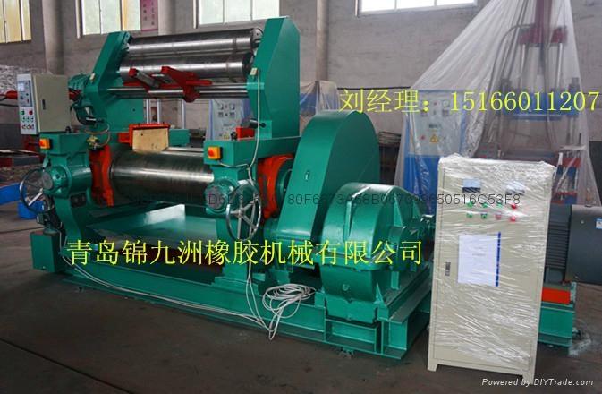 450型带翻胶装置橡胶自动开炼机 4
