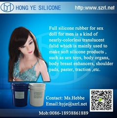 liquid silicone for inflatable sex doll