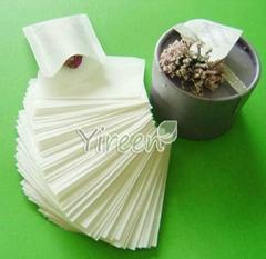 60 X 80mm Filter Paper Heat Sealing Empty Tea Bag