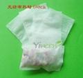 60 X 80mm Non-woven Fabric Heat sealing empty tea bags 1