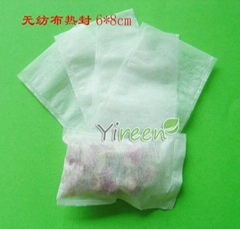 60 X 80mm Non-woven Fabric Heat sealing empty tea bags