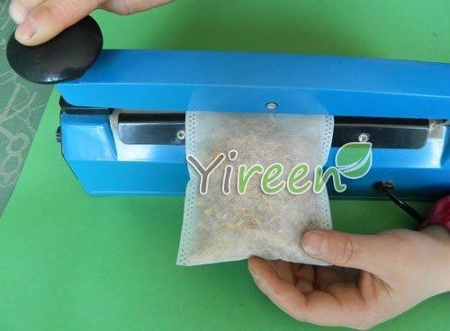60 X 80mm Non-woven Fabric Heat sealing empty tea bags 3