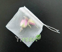60 X 70mm Nylon Single String Empty tea bag