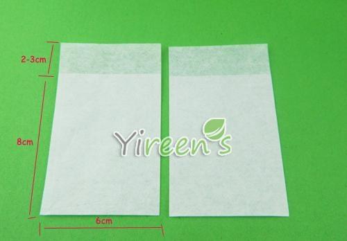 60 X 80mm Tea Filters EXTRA SLIM Filter Paper Tea Bags 2