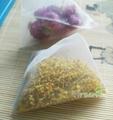 65 X 80mm Heat Sealing Pyramid Nylon Tea