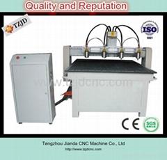 CNC Router machine Multi head machine TZJD-1313F