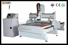 Automatic Kinfe Changing CNC Router machine In-line