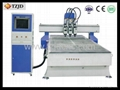 TZJD Multi-head CNC Router with Wood Working