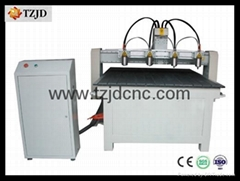 CNC Router machine Multi head machine TZJD-1313F