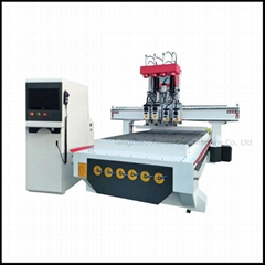 Pneumatic Tool Changing CNC Router Woodworking machine