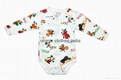 Organic Baby Body suit onesie