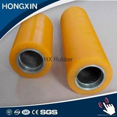 High wear resistant polyurethane roller