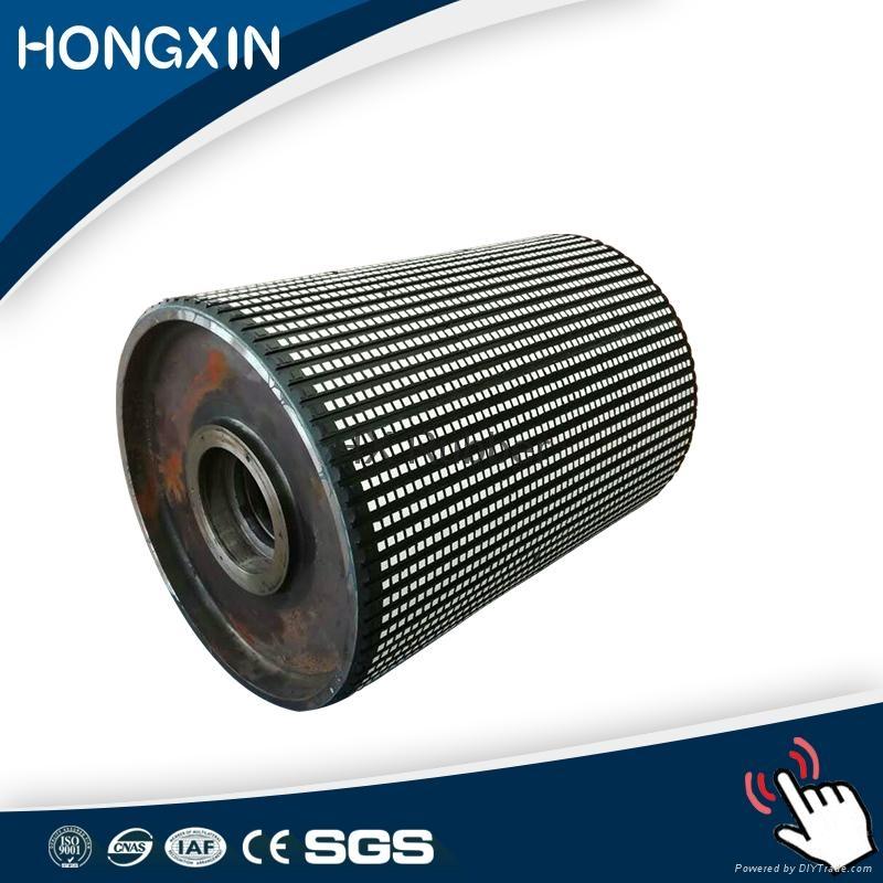 ceramic pulley lagging for belt conveyor 3