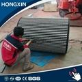 ceramic pulley lagging for belt conveyor 5