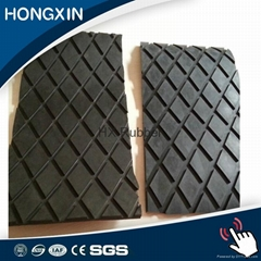 Rubber pulley lagging sheet for belt conveyor