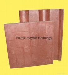 該設備用於再循環的塑料