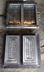 Recycle plastic compressed mould