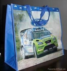 大型编织广告袋