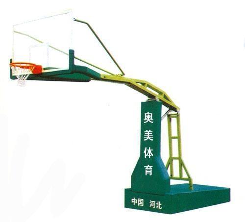 高檔移動防液壓比賽籃球架 1