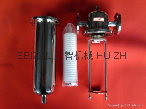 不锈钢蒸汽灭菌过滤器 1