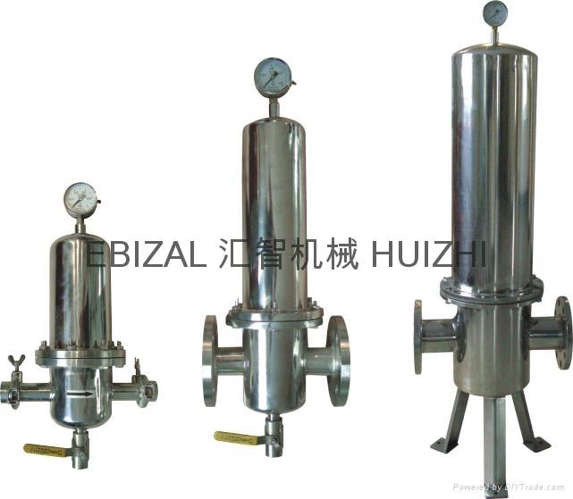 不锈钢蒸汽灭菌过滤器 5