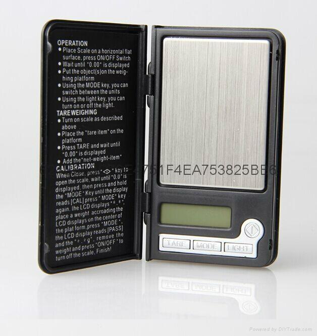 Shenzhen BDS808 portable pocket scale manufacturer  1